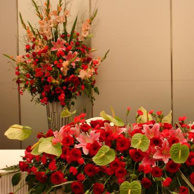 ブライダルお花